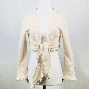 Victoria's Secret Cream Shrug Size M